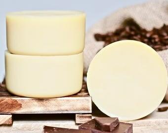 100% Organic Cocoa Shower Lotion Bar