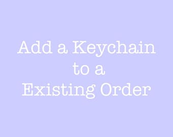 Add a Keychain - to an existing order, heart charm, add a heart charm,2 heart charms, silver add on charms