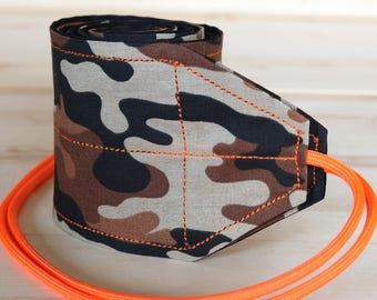 TraininGear Wrist Wraps Brown Orange Camo Hunter Weightlifting Lifting Crossfit WOD Training Gear