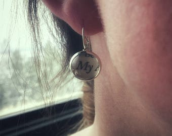 Know Your Literature Earrings