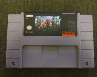 Super Mario World Plus 4 Super Nintendo SNES