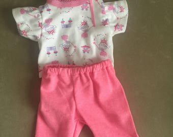 Little Princess Pants Outfit For American Girl Bitty Baby