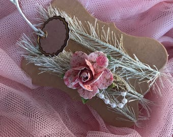 Baby girl tie back headband