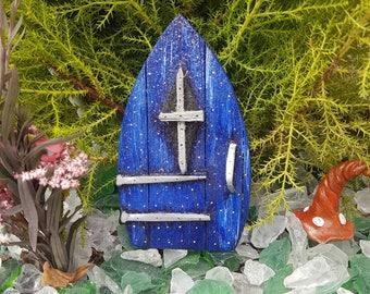 Midnight blue fairy door