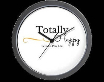 "Wall Clock ""Totally Happy"""