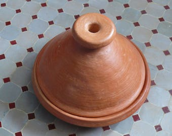 Moroccan Marrakech Tajine for cooking unglazed Ø 25 cm for 2-3 persons