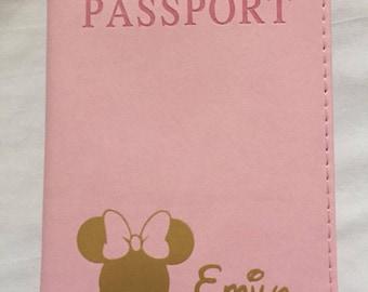 Personalised Disney style Passport Holder