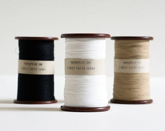 Paperphine Finest Paper Yarn With Vintage Bobbin