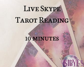 Live Skype Tarot Reading - 10 minutes