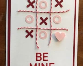 Valentine Tic Tac Love Greeting Cards-3