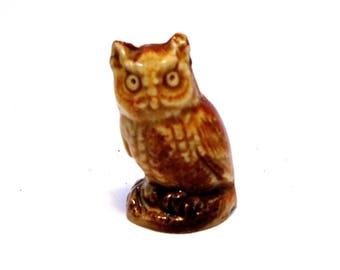 Wade Whimsie : English Whimsies Set 3 - Owl 1972