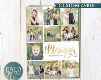 Blessings - Christmas Cards