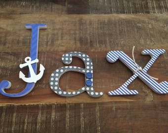 Wooden Decorative Letters - Wall Letters - Baby Shower Gift - Nursery Letters - Wood Letters - Decorative Letters