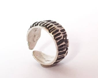 Ring made of silver, gift for women, handmade