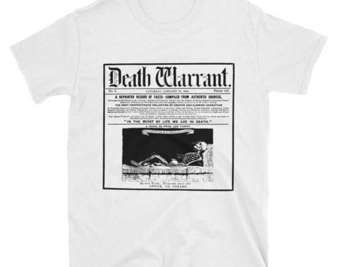 Death Warrant Tee- White