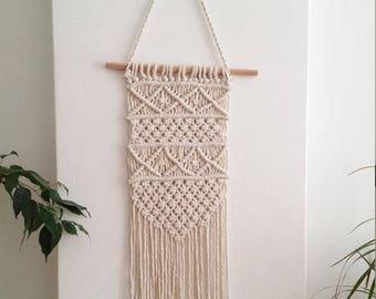 Set of Macrame Wall Hangings, Macrame wall hanging, woven wall hanging, woven wall tapestry, macrame wallart, macrame wall tapestries