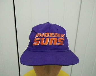 Rare Vintage STARTER PHOENIX SUNS Spell Out Embroidered Cap Hat Free size fit all