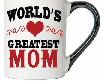 Mom Mug 20 Ounce Worlds Greatest Coffee Cup Gifts
