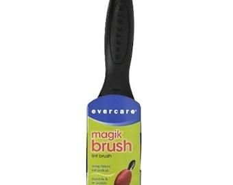 Pack of 6, Evercare Magik Brush Double-Sided Lint Pickup Brush