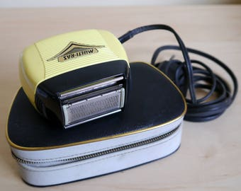 Very rare RABALDO M2 Multi-Raz electric shaver, Swiss made, 1950's