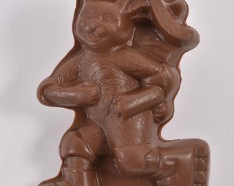 Conrad's 4.75'' Milk Chocolate Rollerblade Bunny (solid)