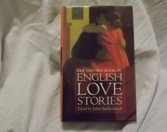1996 ** The Oxford Book English Love Stories ** John Sutherland **sj