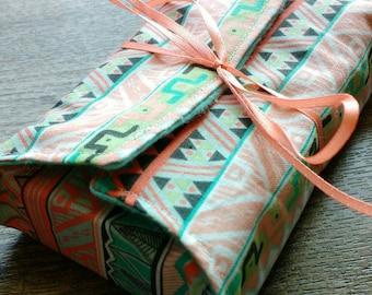 Aztec Pattern Tarot Deck Wallet