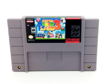 Super Mario Land 3 Snes Repro
