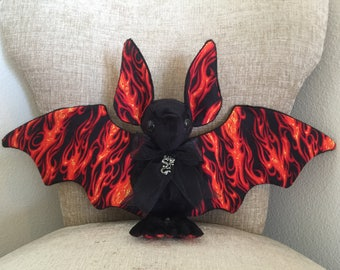 BREATHING FIRE Large Bat Plush