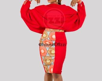 GlamAtractivo, african colours, ankara, african print, classy styles, african dress, dinner dress,