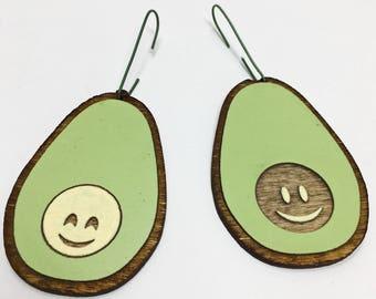 Avocuddles Avocado Christmas Ornaments | Cute Handmade Avocados Holiday Hanging
