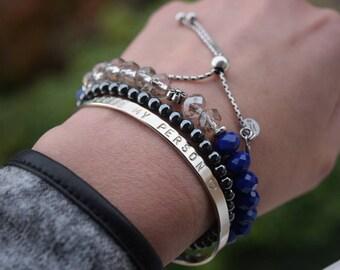 Custom Bracelet, You're my person, Greys Anatomy, Couples Bracelet, Custom Cooperates, Name, Graduation, Demoiselle d'honneur, Bridesmaid