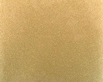 "127 Gold 12""x 12""  StyleTech 2000 Ultra Metallic Glitter Adhesive Indoor / Outdoor Vinyl - Similar to Oracal 651"