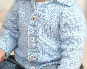 Baby or Child's Button Sweater