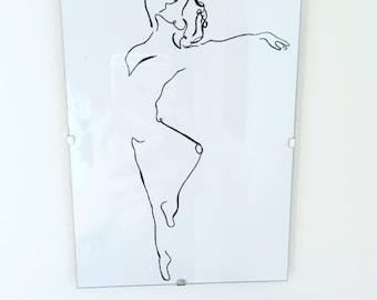 A5 ballet dancer