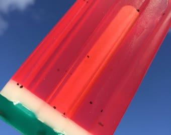 Watermelon Pop Soap Popsicle