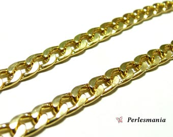 Jewelry supplies: 1 meter PK1469 gold big link chain