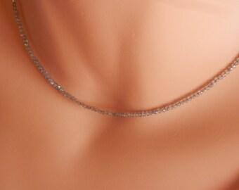 silver labradorite choker necklace sterling silver labradorite pendant labradorite jewelry labradorite stone necklace