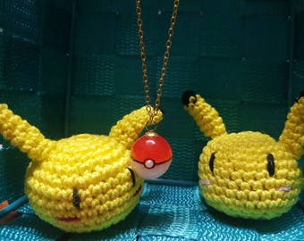 Pokeball/pokemon necklace christmas holiday