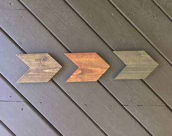 Chevron Arrows, Nursery Decor, Home Decor, Wood Signs, Arrows, Personalized Signs, Custom Signs, Signs, Wall Decor, Wall Hangings