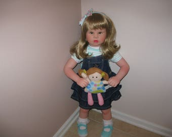 "Apple Valley Reborn 30"" toddler Doll"
