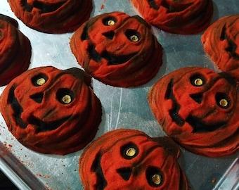 Happy Halloween! Pumpkin Peacan Waffles Scented Bath Bomb!