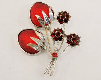 Vintage Strawberry pin - Sarah Coventry
