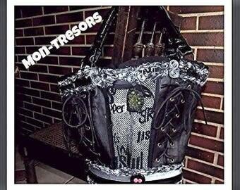 Gothic style handmade purse