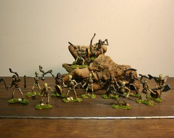 Hand Painted Skeleton Army