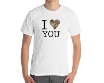 I Love you Cannabis Men's Short Sleeve T-Shirt