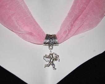 Jewelry scarf Angel