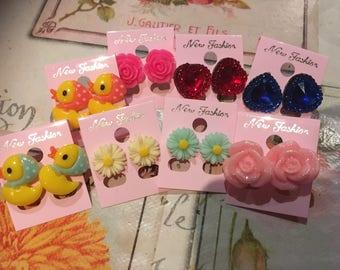 SALE* Kawaii Stud Earrings