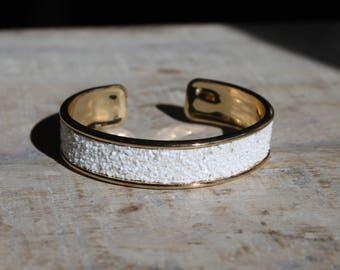 Cuff Bracelet, cuff, Bangle, Glitter, women bracelet, gift bracelet, bracelet white bracelet