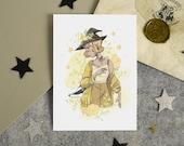 Carte postale- Poufssoufle